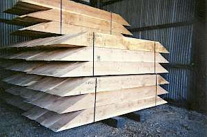 mining timber, cribbing, custom milling, joinery, bevelled cut, bevel cut